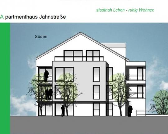 VERKAUFT! 1-Zimmer-Neubauwohnung mit Terrasse und Gartenanteil (Obj. 944W02)