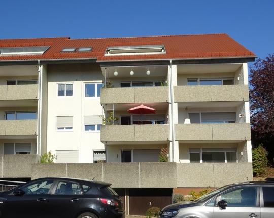 VERKAUFT! Sehr gepflegte 3-Zimmer-Wohnung mit Balkon in Aalen-Hofherrnweiler (Obj. 1002W00)