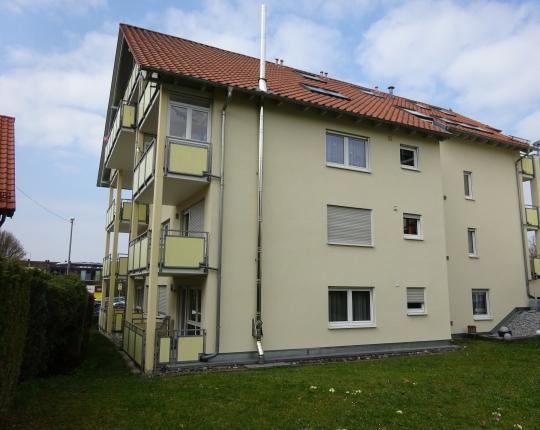 VERKAUFT! 2-Zimmer-Wohnung in Aalen-Zentrumsnähe (Obj. 1013W00)