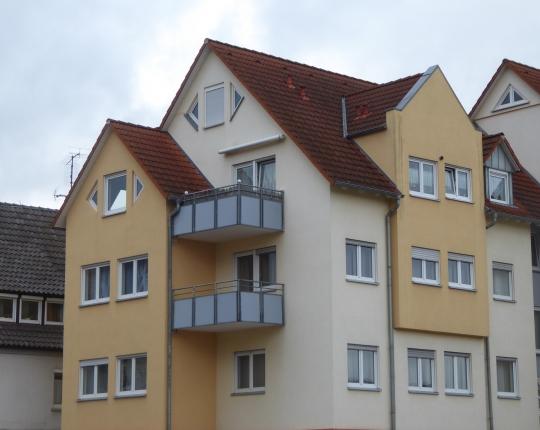 Verkauft! 2-Zimmer-Wohnung mit Balkon im Stadtzentrum (Obj. 1074W09)