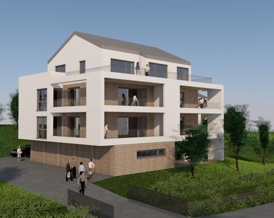 Verkauft! 3-Zimmer-Neubauwohnung in Aalen-Unterkochen (Obj. 1030W05)